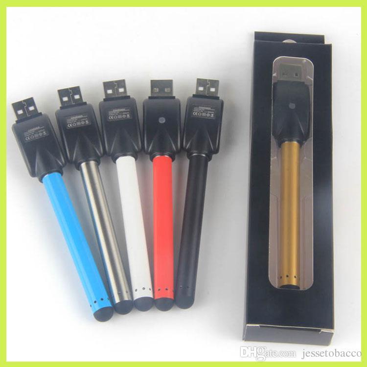Vape pen e-cig vaporizador 510 bud touch batería mini slim open sin botón baterías automáticas para vapeo de atomizador de cartucho ce3