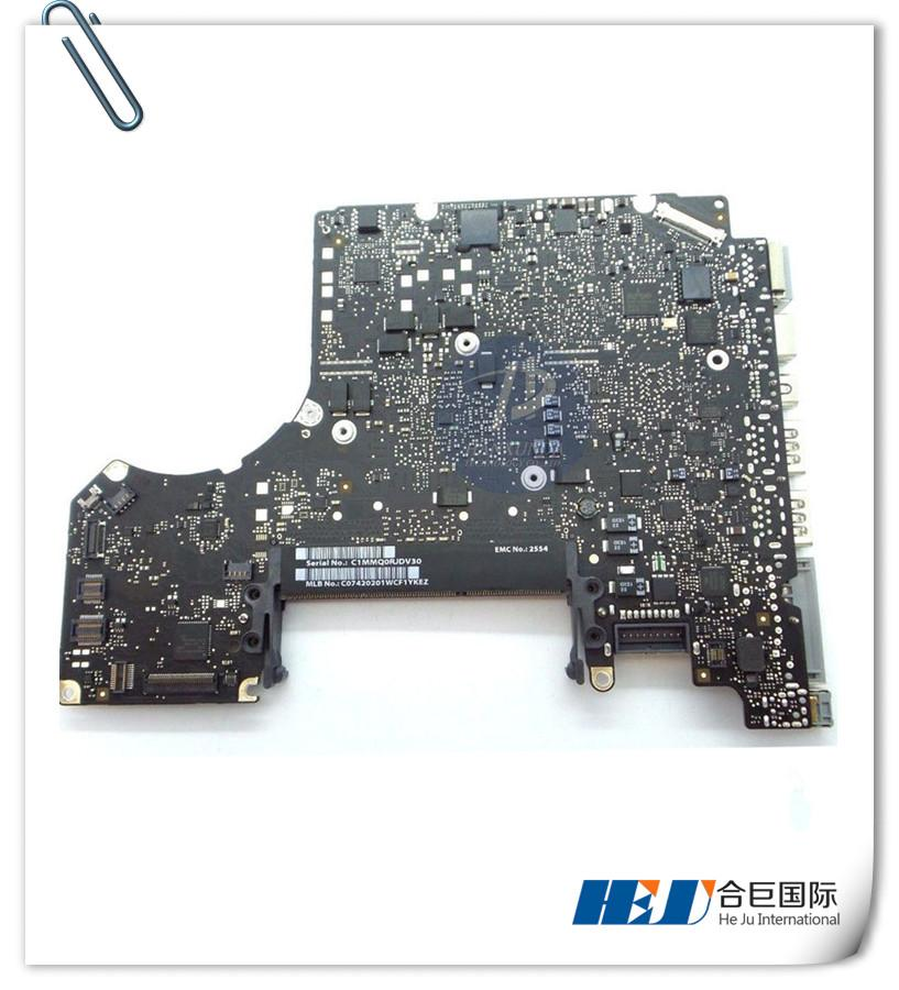 "Motherboard i7 2.9GHz for MacBook Pro 13"" A1278 Logic Board Mid 2012 year 820-3115-B"