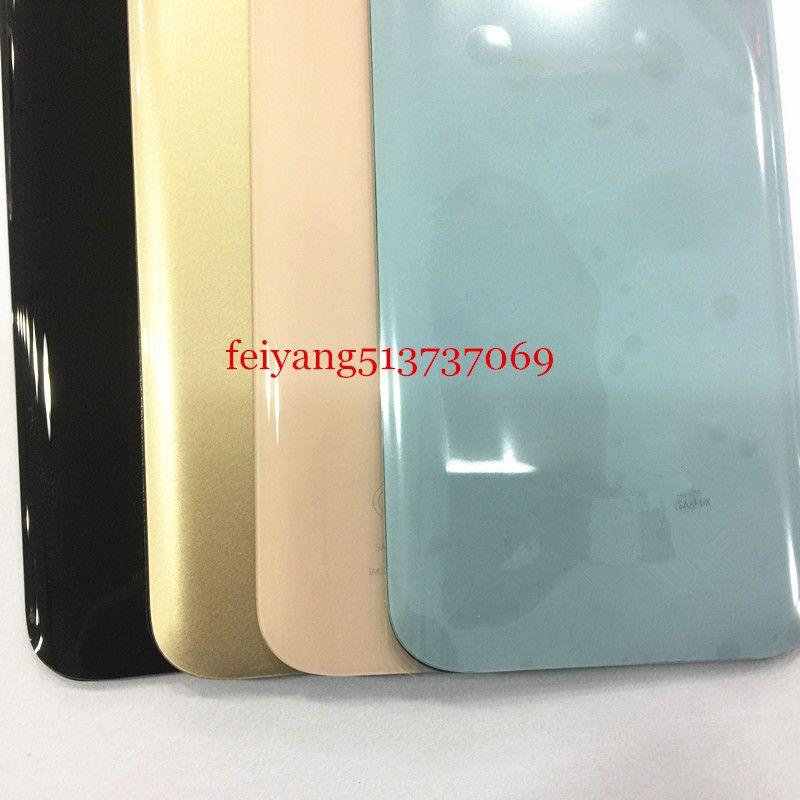 10 adet OEM en iyi Arka Pil Kapağı Arka Kapı Konut Case Cam Yapıştırıcı Sticker Ile Samsung Galaxy Için A3 A5 A7 2017 A320 A520 A720
