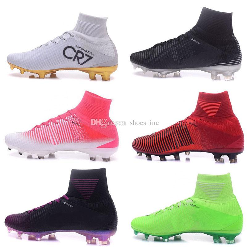 Men S Mercurial Superfly 4 FG Soccer Shoes Boots High Top CR7 Cleats Laser  Football Sneakers Eur Size 39 45 UK 2019 From Shoes inc 95335798c653