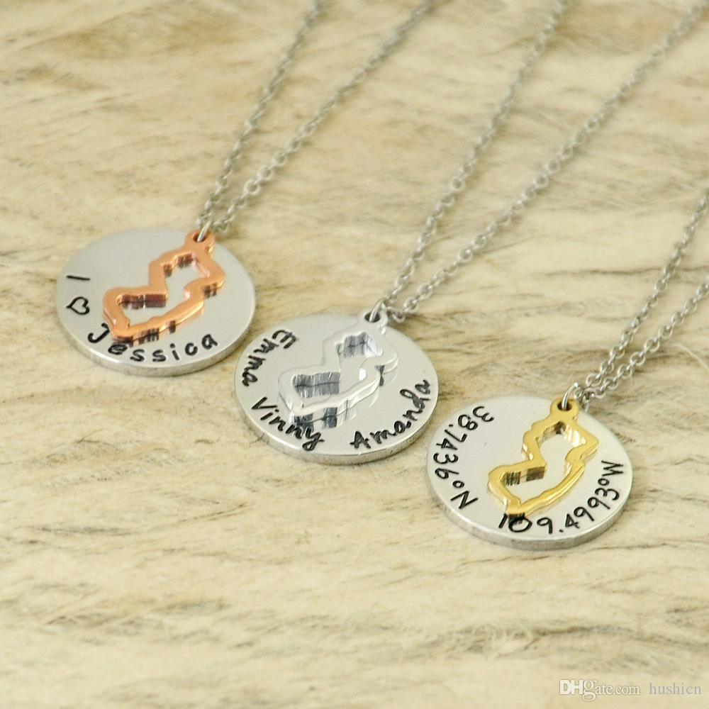 Personalized charm outline new jersey necklace state necklace personalized charm outline new jersey necklace state necklace pendant hand stamped jewelry state necklace necklace pendant hand stamped jewelry online with aloadofball Images