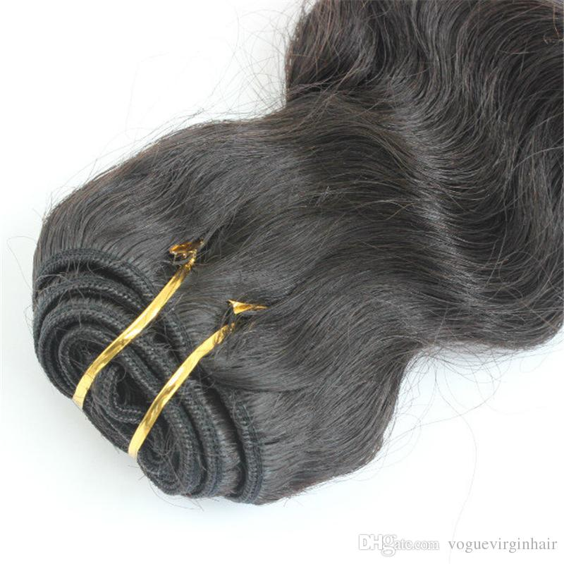 India Human Hair Deep Wave Unprocessed Hair Weaves for white women Shipping fast