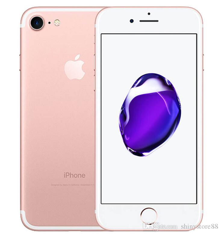 Reformierte Original Apple iphone 7 7 plus ohne Touch-ID entriegelte Telefon 32GB 128GB IOS12 12.0mp Home Button Arbeits