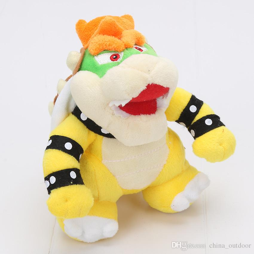17-24cm Super mario Bros Koopa Plush Toys Dolls Morton Koopa Bolster Dry Bones Bowser Super Mario toy