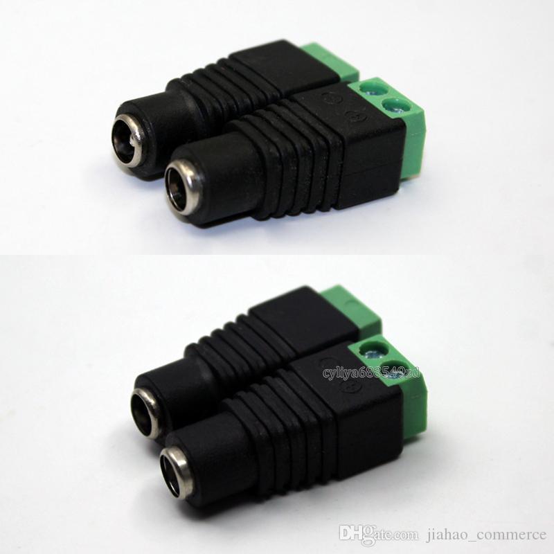 2.1 x 5.5mm DC Power Connecteur Femelle Jack Adaptateur Connecteur Socket pour CCTV En Gros