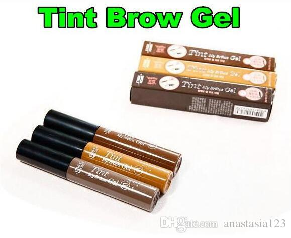 Newest Fashion New Etude House Tint My Brows Gel Korea Costmetics Peel off type Eyebrow Enhancers with Retail Packing