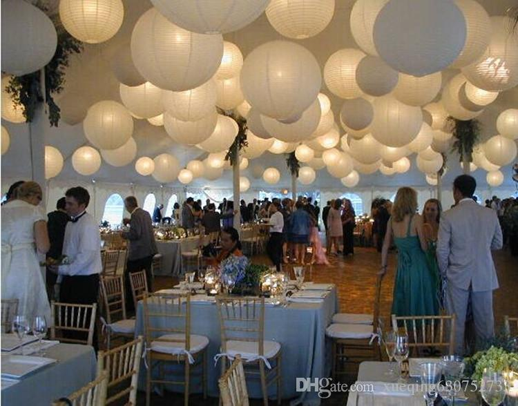 Wedding decoration 1230cmchinese paper lantern ball marriage party wedding decoration 1230cmchinese paper lantern ball marriage party decorations holiday style party supplies white wedding decor wholesale wedding junglespirit