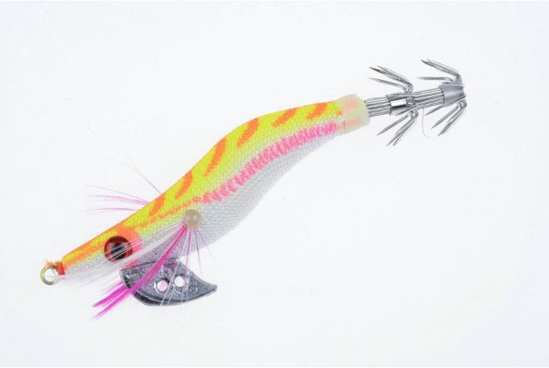 Good Price 3D Eye Squid Lure with Fishing Hook and 8cm 7.4g Plastic Hard Baits Artificial Luminous Shrimp Fishing Lure