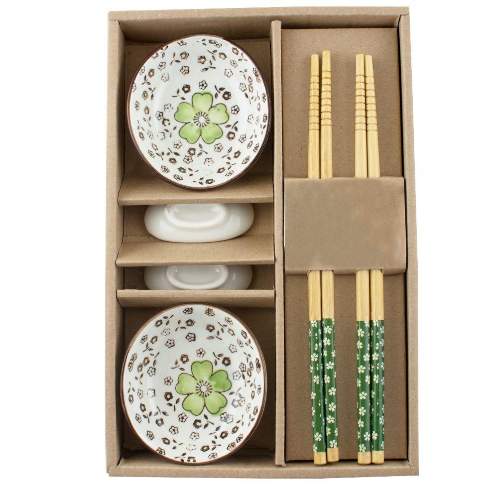 Wholesale Dinnerware Set Icarekit Japanese Tableware Set Ceramics Sushi  Saucer Set For Two In Gift Box 460554 Floral Dinnerware Sets Floral Dinnerware  Sets ...