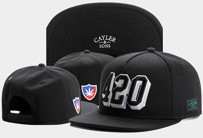 1c7eafa23dd New 420 CAYLER   SON Hats Snapback 2017 Baseball Cap For Men Women Black  Cayler Sons Snapbacks Sports Fashion Caps Brand TYMY 612 Millinery  Richardson Hats ...