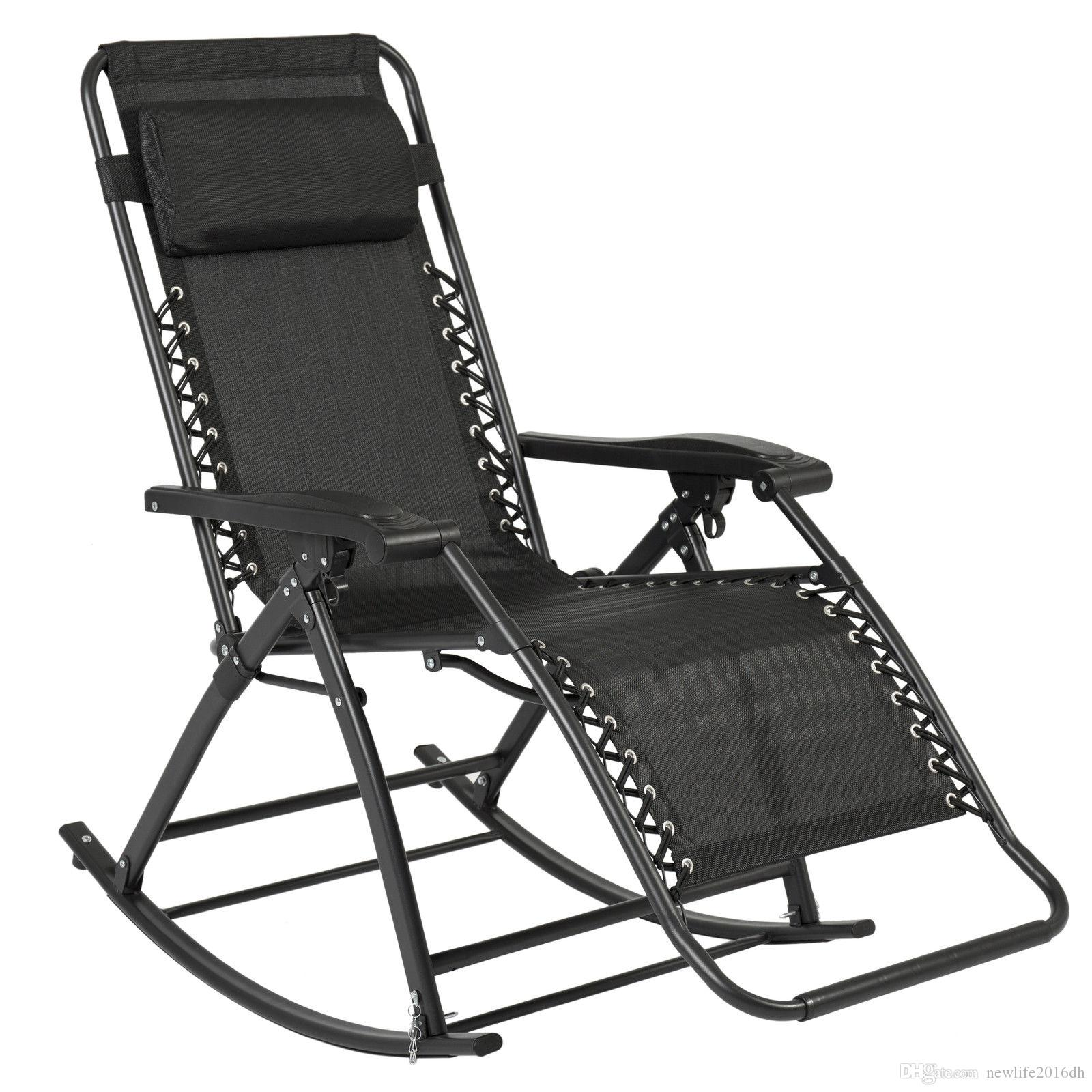 2019 New Products Zero Gravity Rocking Chair Lounge Porch