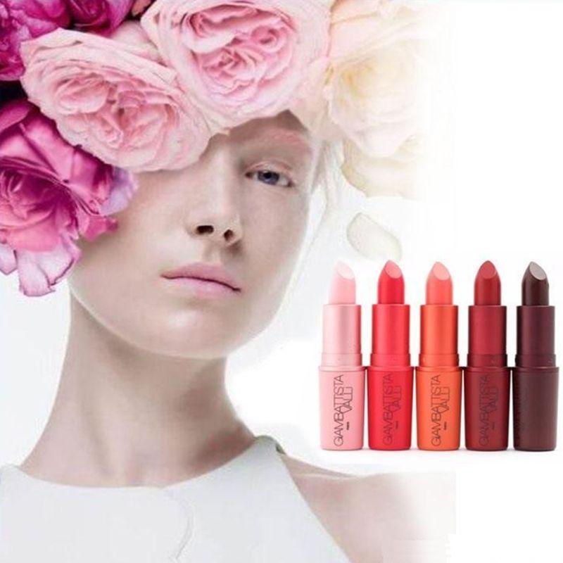 2017 New Arrival Makeup Set limit rubber pipe warhead lipstick Matte lipstick Long Lasting Lip Gloss fashion balm Wine Red