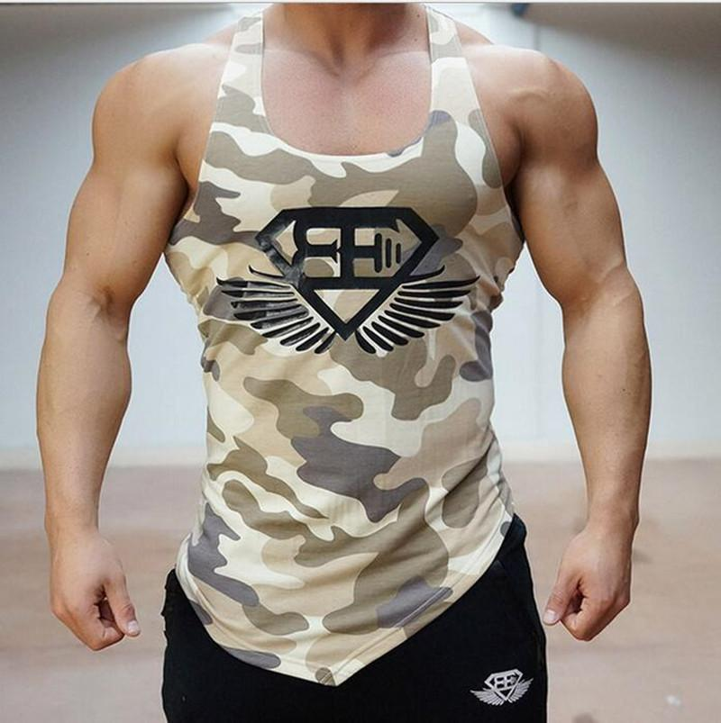 b5fd221f0b268 2019 Wholesale Muscle Brothers Summer Newest Men S Vest And Fitness  Treadmill 2016 Brand Bodybuilding Men S From Berniee