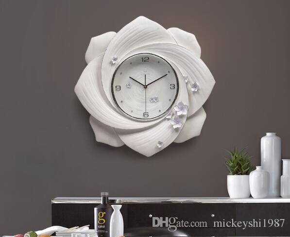 Orologi Da Parete In Tela : Acquista orologio da parete orologio da parete soggiorno creativo