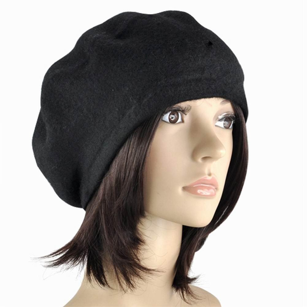 Wholesale-Newest Ladies Wool Mix French Beret Hat Warm Winter Hat Girls  Beret Hat Hat Shell Hat Only Hat Shop Online with  34.15 Piece on Juaner s  Store ... 7eedf222429e