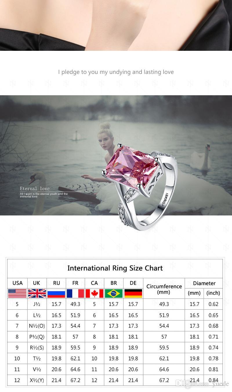 Gioiello moda nuovo 925 argento Coppia anello Fit Pandora cristallo femminile da anelli Swarovski