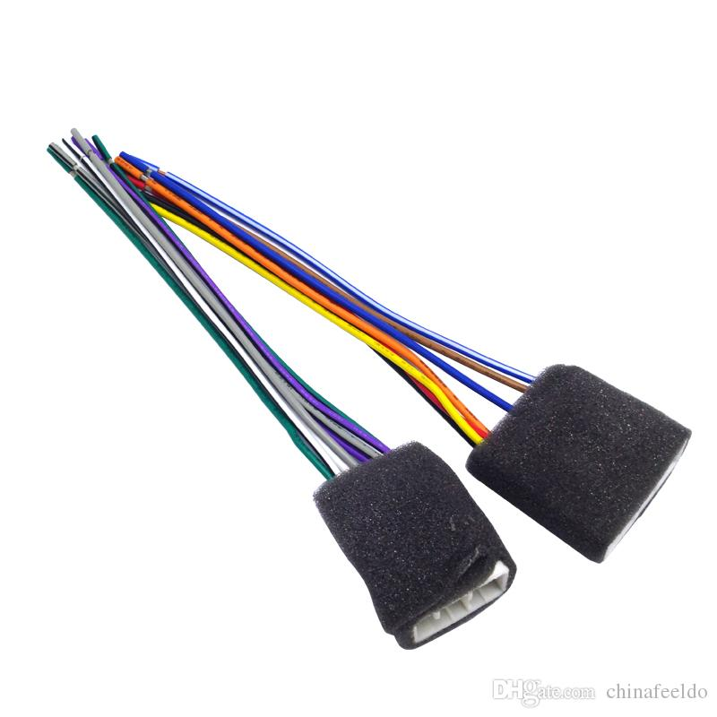 leewa car cd player radio audio stereo wiring leewa car cd player radio audio stereo wiring harness adapter plug  at readyjetset.co