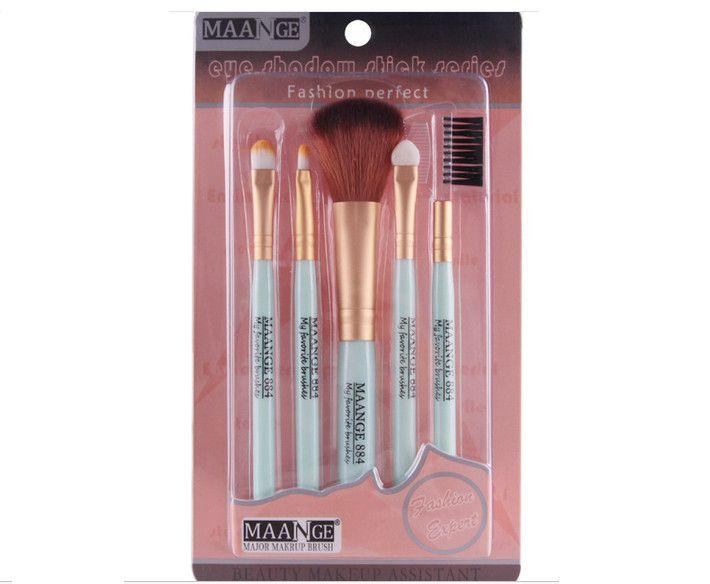 2017 New Foundation Blush Brush Cleaner Makeup Brushes Sets Gift Cosmetics Tools Eyeshadow Foundation Cosmetic Makeup Brush Blusher Bru