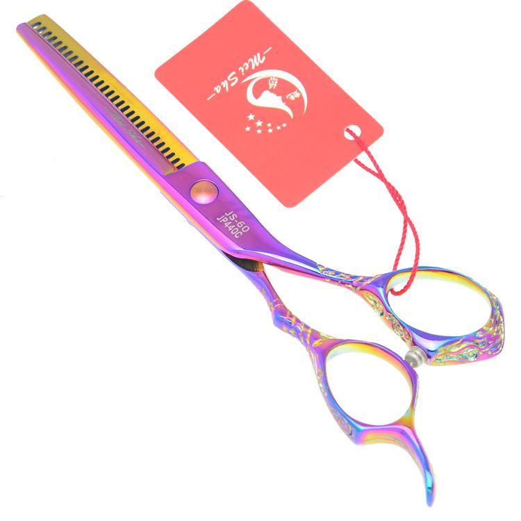 6.0Inch Meisha Hairdresser Razor Salon Thinning Shears Professional Hair Barber Scissors JP440C Hairdressing Scissors New ,HA0236