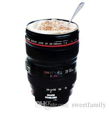 Creative Camera Lens Coffee Mug Canons Cup 2 Generation Of Len Mugs For Canon Fans Photography Novelty Gifts