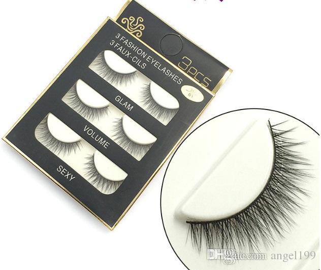 3D vizon saç sahte kirpikler 8 Stilleri El Yapımı Güzellik Kalın uzun Yumuşak Vizon kirpikleri Sahte Göz Lashes Kirpik Seksi Yüksek Kalite DHL