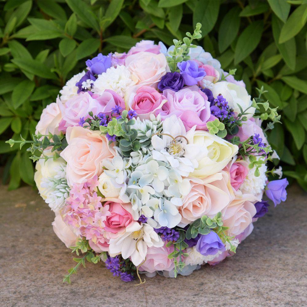 Bridal Bouquet Wedding Flower Wedding Supplies High Quality Real