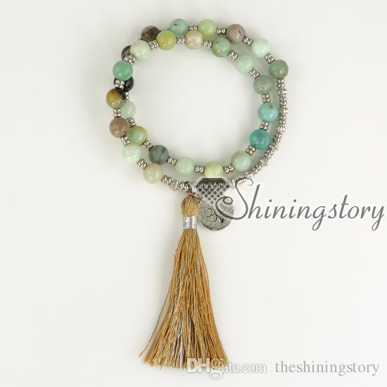 árvores de pulseira vida pulseira borla boa sorte jóias pulseira de yoga uk cura de cristal pulseiras sorte jóias encantos