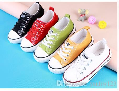 b875e03c8af Children S Shoes Boys Girls Shoes Spring Autumn New Stars Children Kids  Casual Canvas Toddler Shoes European Shoe Size  20 30 Kids Brand Shoes Kids  Sperry ...
