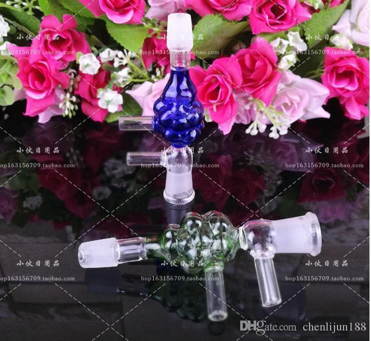 Farbglas Adapter, Großhandel Glas Shisha Zubehör