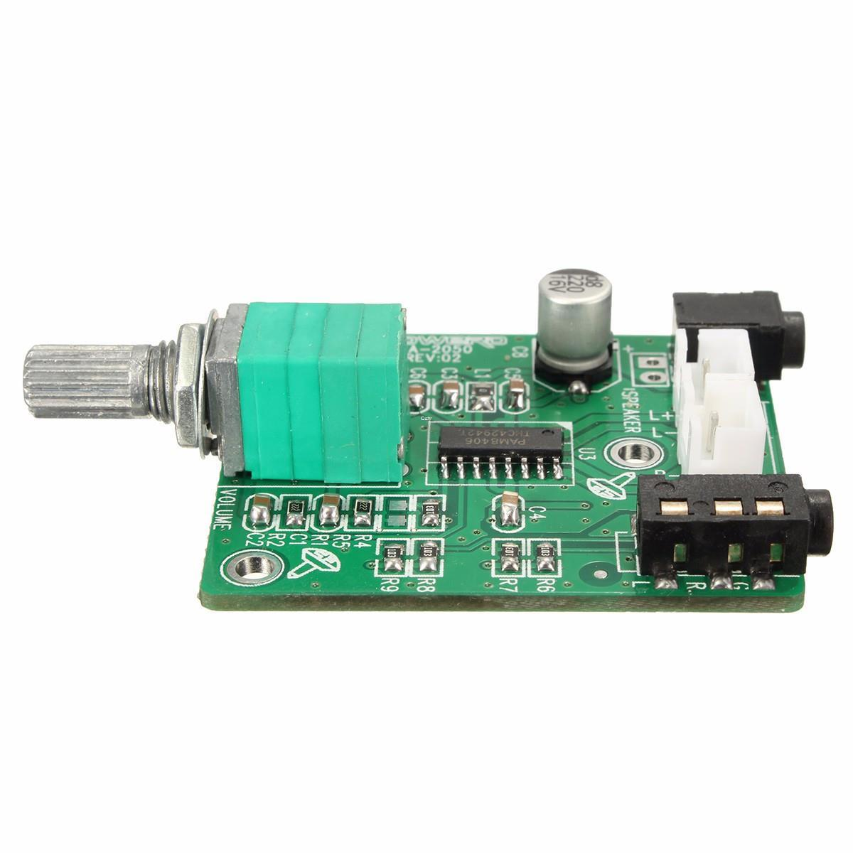 Electronic Circuit Board Pam8406 Digital Class D Audio Power Electrical Boards Popular Freeshipping Amplifier Stereo Assembled 2 Channel 5w Amp
