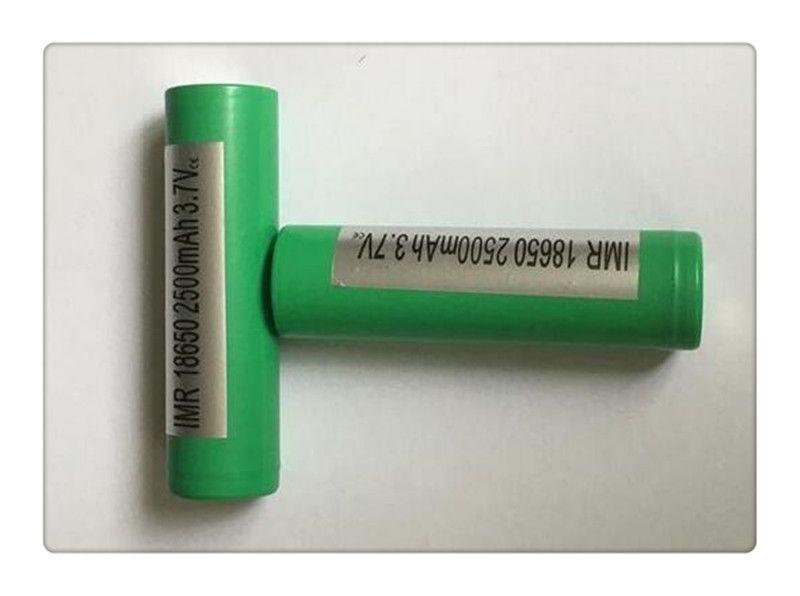 Fedex 25R 18650 Battery 2500MAH 35A NCR18650B Lithium Rechargeable Batteries VS VTC5 VTC4 HE4 25R