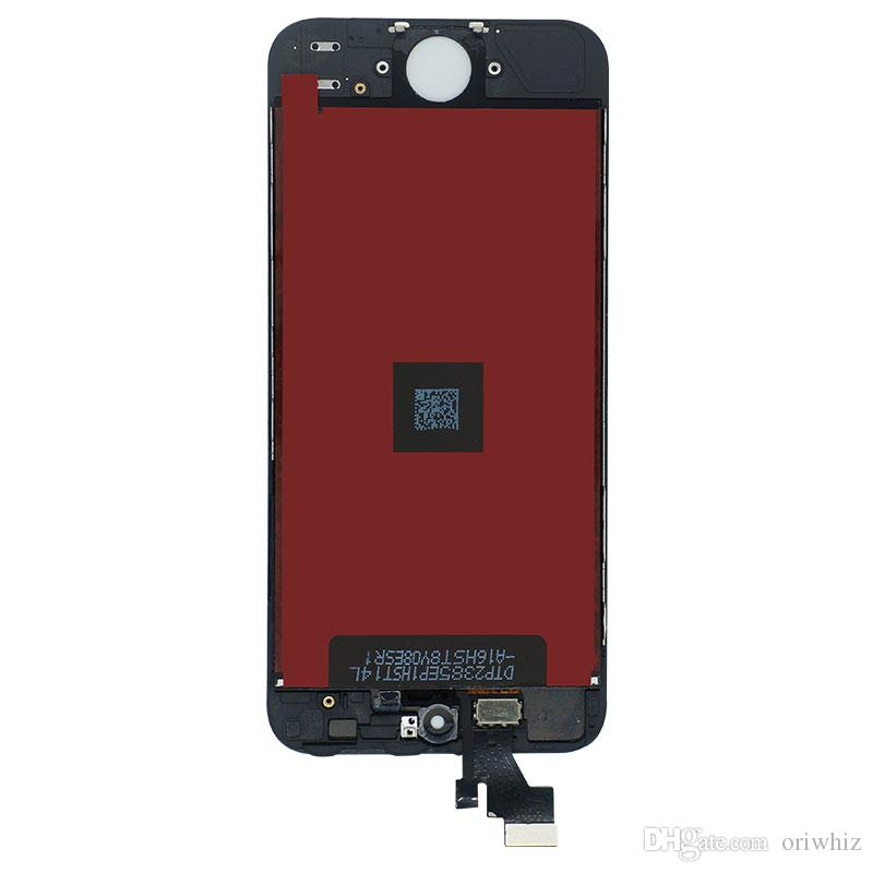 ORIWHIZ Bulk Price Touch Digitizer Screen with Frame Assembly Replacement for iPhone 5 5G Lcd Black White Color Support