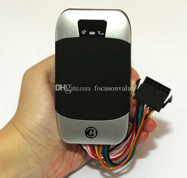 303F GPS Tracker 303G Vehicle Car GPS/GSM/GPRS SMS Remote Control Fuel Sensor Real-time Phone Tracking With retail box