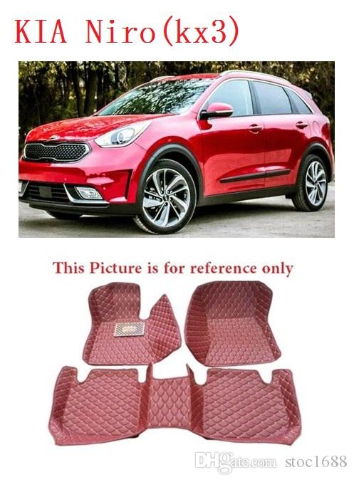 Weather Car Mats >> 2019 Scot All Weather Leather Floor Car Mats For Kia Nirokx3