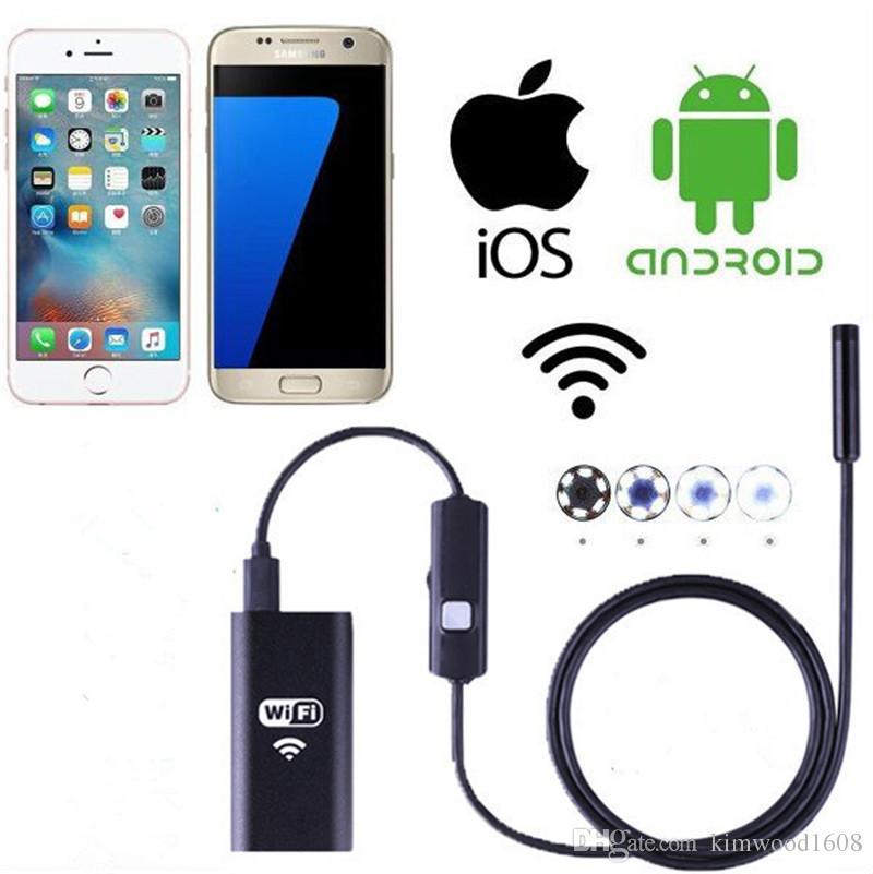 Беспроводной эндоскоп <b>WiFi</b> бороскоп инспекции камеры <b>2.0</b> ...