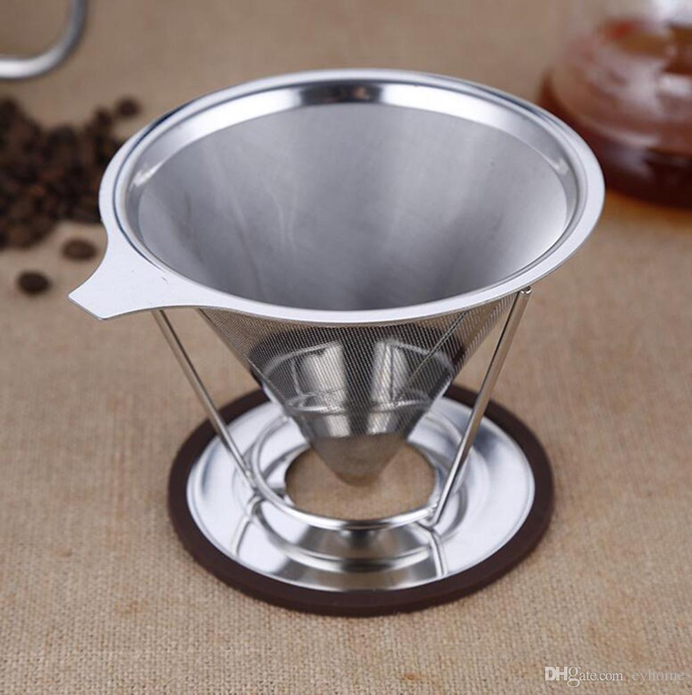 coffee dripper filter cup 5cups percolators filter with ...