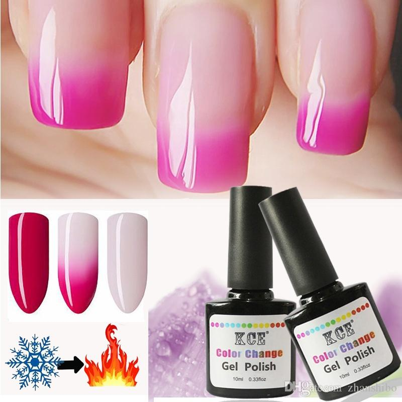 Newest Nail Polish Temperature Change Color Uv Gel Polish Gradient ...