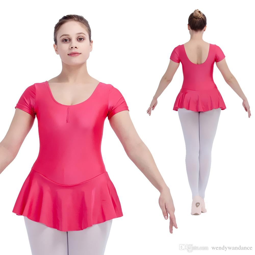 Compre Vestido De Leotardos De Danza De Ballet Nylon / Licra De ...