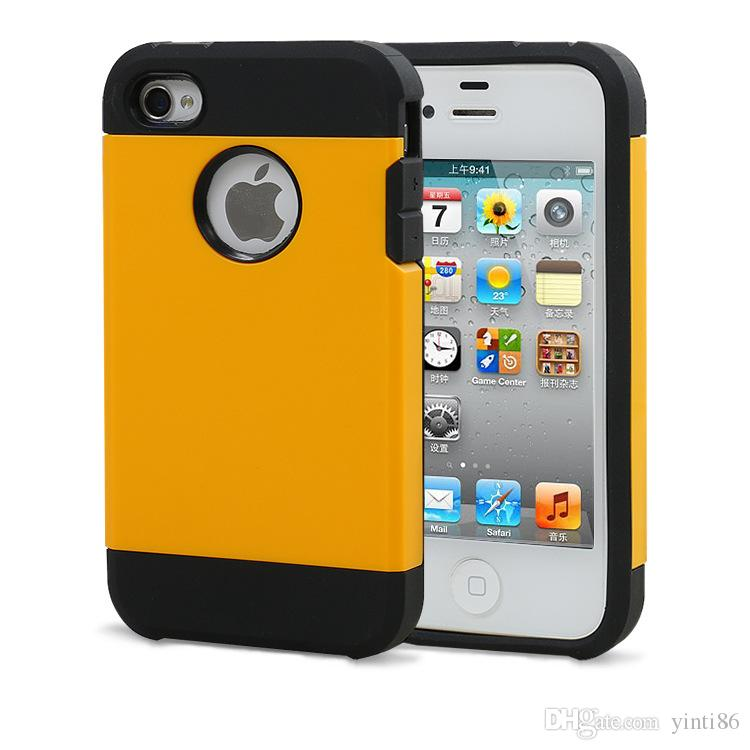 Hot Sale Armor Tough Hybrid Phone Case For Iphone 4S 5s 6 6s 7 7 plus Sumsung S5 TPU Hard Back Cover Case