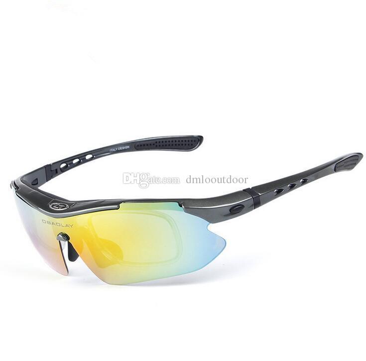Cyclisme Lunettes de ski en plein air de protection UV Lunettes de soleil, Transparent Tea
