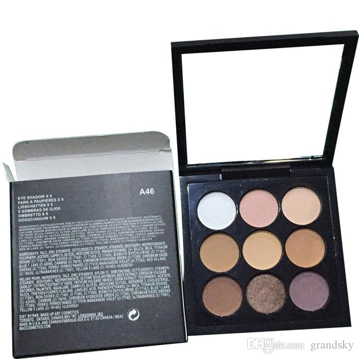 Hot Brand Eyeshadow Palette Eyeshadow Palettes 6 Shades Net 0.8g/0.02