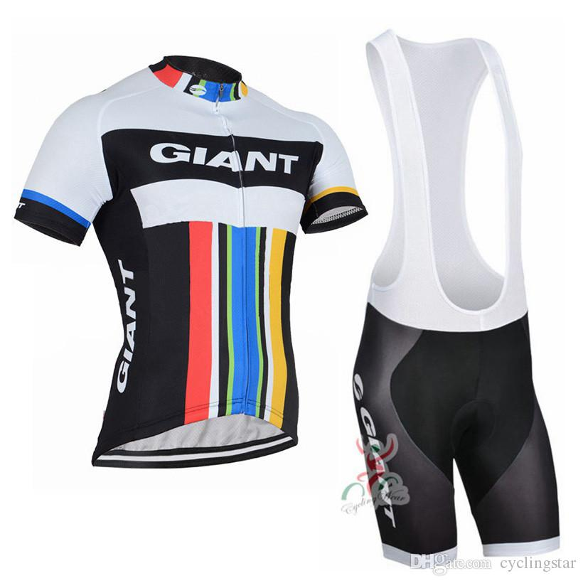 Giant Cycling Jersey Pro Team Short Sleeve Bicycle Clothing Bike Sportswear Unisex Breathable Quick Dry Summer mens Cycling Clothing C0135