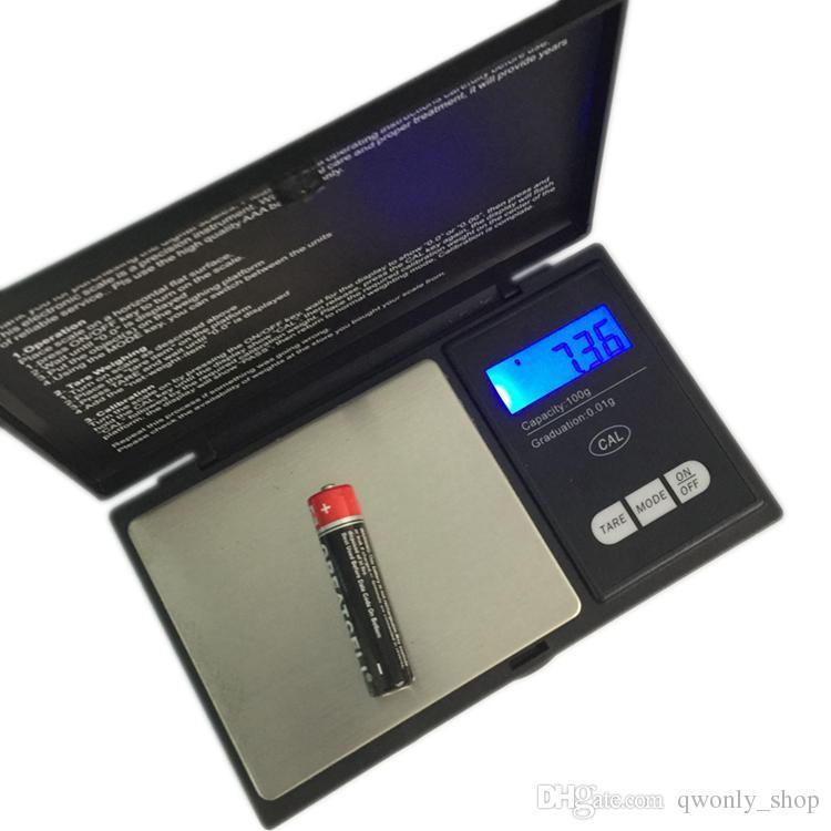 100g 0.01g Mini LCD Elektronik Cep Ölçeği Paslanmaz Çelik Taşınabilir Takı Altın Pırlanta Ağırlık Dengesi Ücretsiz Nakliye Ölçekler
