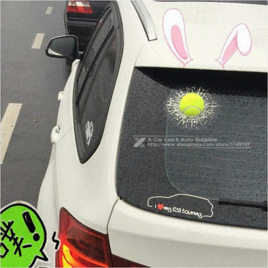 Best 2017 funny car stickers and decals 3d football baseball sticker self adhesive pvc eva auto truck window film wrap car styling under 7 0 dhgate com