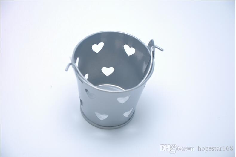 Wedding Candy color Mini Bucket wedding favors mini bucket Laser Cut candy boxes favors favor tins package
