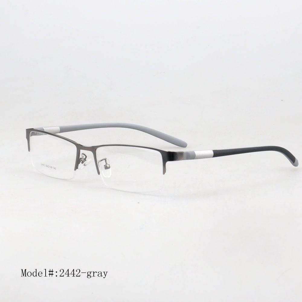 31a4b980e2b Wholesale 2442 Designer New Men S Fashion Eyewear Optical Spectacles  Prescription Metal Frames UK 2019 From Heheda1