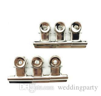 Office tools Grip Clips Bulldog Clips Letter Clips Silver Metal paper Clip size 22 mm