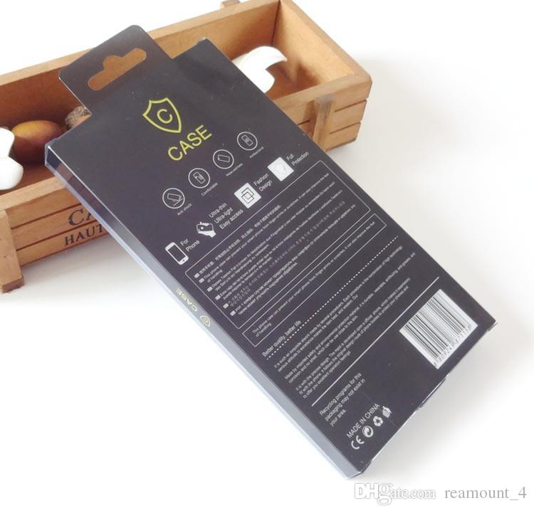 Klassische Telefon-rückseitige Großhandelsabdeckung für ZTE zmax Pro-z981 Handy-Kasten PVC-Kleinverpackenkasten mit innerem Einsatz für iPhone 7