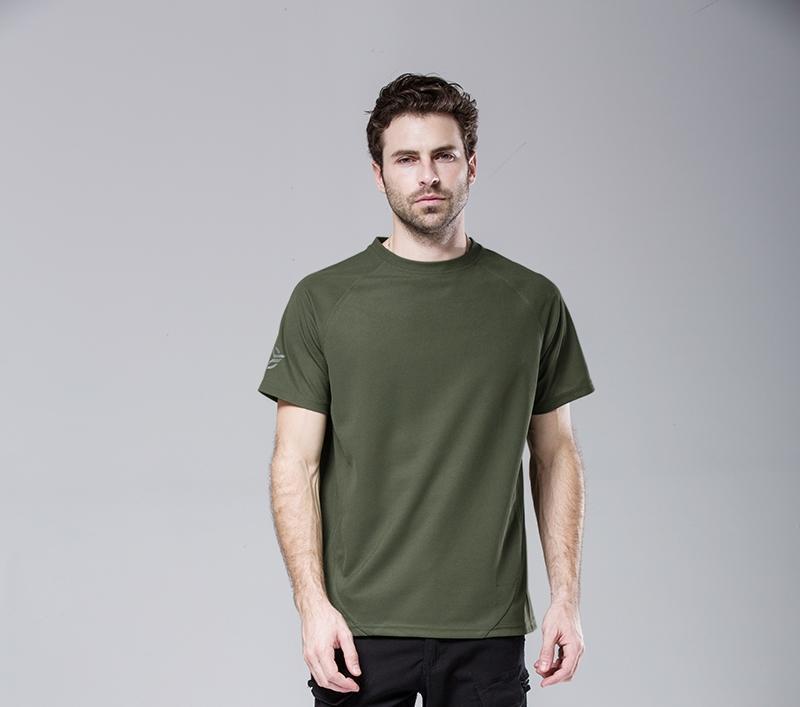 T-shirt tactique hommes S-XXXL de Shanghai Story Man T-shirt à manches courtes hommes à séchage rapide chemise d'été