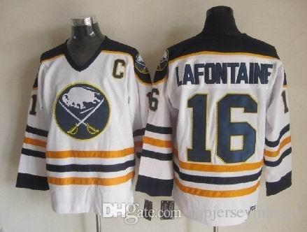 ... 2017 Throwback Ice Hockey Jerseymens Buffalo Sabres Jersey 39 Dominik  Hasek 77 Pierre Turgeon 89 Alexander Signed Alexander Mogilny ... cdf36ac97